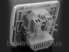 Розетка одномісна з 2-ма гніздами USB
