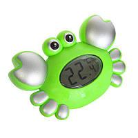 Набор для ванной 5534(Green) Зелёный краб-термометр.кор.25*5*17