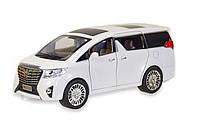 Машинка металлическая Автопром Toyota 1:24 (7685) Белый