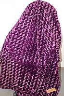 Покрывало Евро размера барашка Fashion фиолетовое
