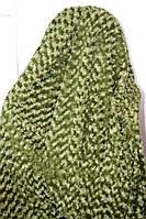 Покрывало Евро размера барашка Fashion зеленое