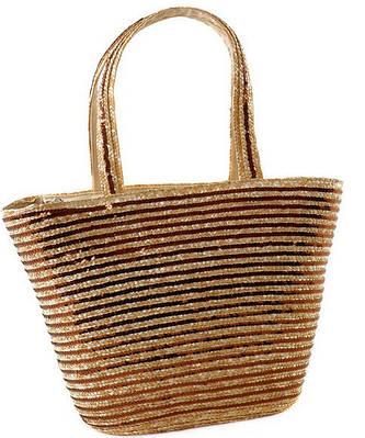 Летняя сумка-корзина  Podium 6912 natural, естественный