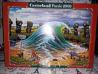 """Пазлы Castorland  """" Волна """" 200283, 2000 элементов"""