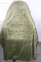 Бамбуковое полуторное покрывало Silk Bamboo оливковое