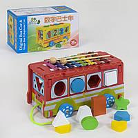 Деревянная игра Автобус С 39261