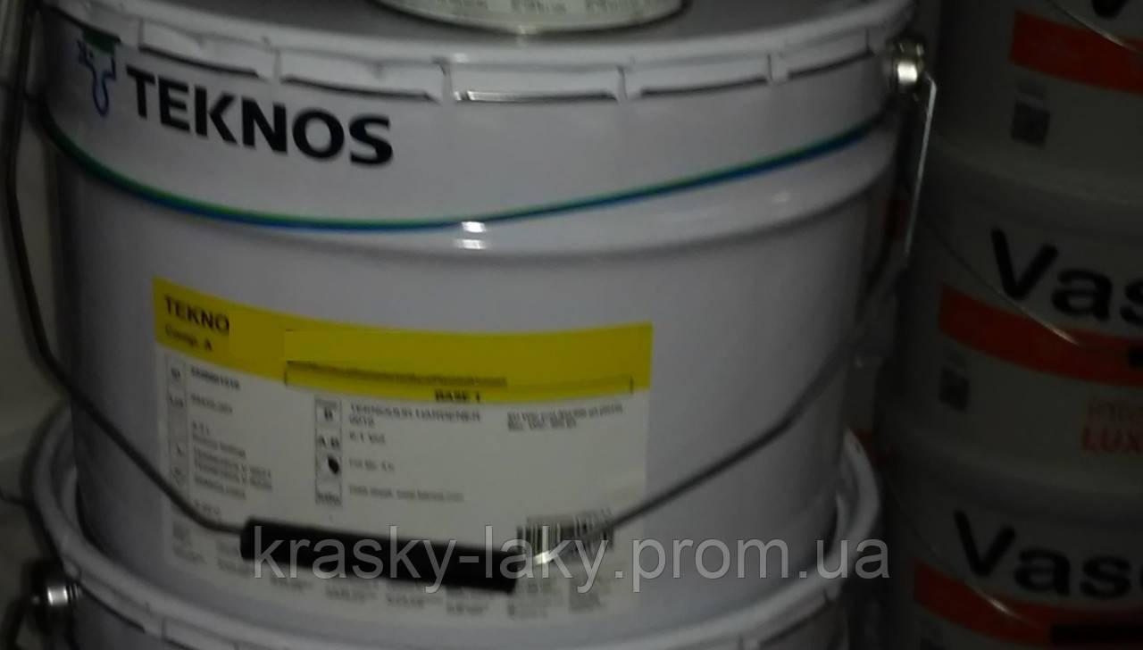 Грунт алкидный Teknolac Primer Текнолак TM Teknos серый ral 7032, 20л