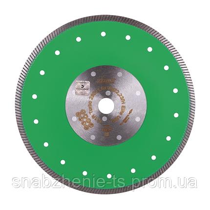 Круг алмазный отрезной (тонкий) DISTAR Turbo Elite Ultra 250 x 1,6/1,2 x 10 x 25,4/H, фото 2