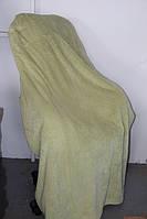 Двуспальное бамбуковое покрывало Silk Bamboo оливка