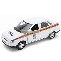 Модель машины 1:34-39 LADA 110 МЧС WELLY