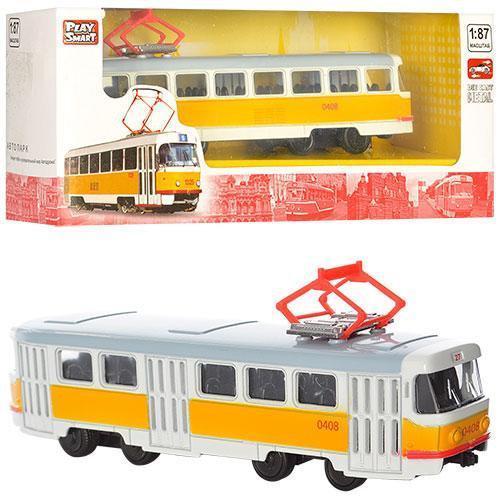 Модель трамвай PLAY SMART 6411B Автопарк