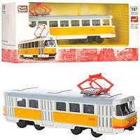 Модель трамвай PLAY SMART 6411B Автопарк, фото 1