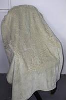 Бамбукове покривало Євро розміру Silk Bamboo оливковий колір