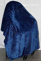Полуторное бамбуковое покрывало Fashion Blue