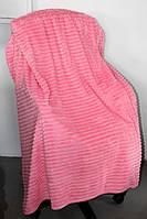 Двуспальное бамбуковое покрывало Fashion pink