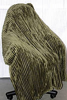 Покрывало бамбуковое Евро размера Fashion хаки