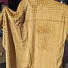 Полуторное бамбуковое покрывало Fashion беж