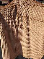 Полуторное бамбуковое покрывало Fashion окрас коричневый