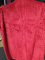 Полуторна бамбукове покривало Fashion червоний колір