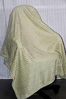 Полуторное бамбуковое покрывало Fashion оливка
