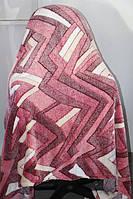 Полуторное махровое покрывало Fashion абстракция