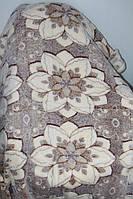 Двуспальное махровое покрывало Fashion цветы