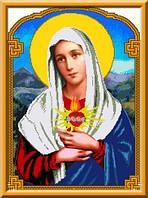 Схема для вышивки Сердце Марии