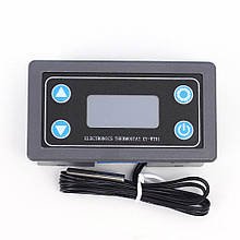 Цифровой регулятор температуры xy-wt01, 12в