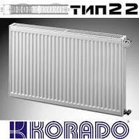 Стальной радиатор Korado тип 22 500*600 боковое подключение