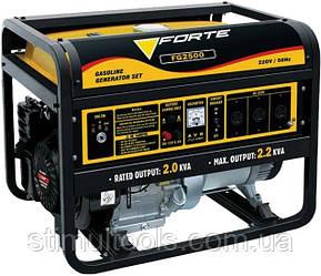 Бензиновый однофазный генератор Forte FG2500