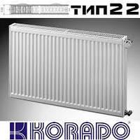 Стальной радиатор Korado тип 22 500*700 боковое подключение