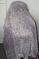 Покривало велюрове Євро розміру Fashion Grey