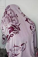 Покривало велюрове Євро розміру Fashion фіолет