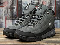 Мужские зимние ботинки на меху в стиле Supo Sport, серые 43 (28 см)