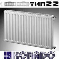 Стальной радиатор Korado тип 22 500*800 боковое подключение