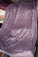 Велюрове полуторна покривало Koloco срібло