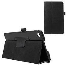 Чехол Подставка Magnetic Litchi для Asus ZenPad C 7.0 Z170 черный