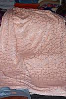 Велюрове полуторна покривало Koloco персик