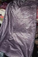 Велюрове двоспальне покривало Koloco молодіжне