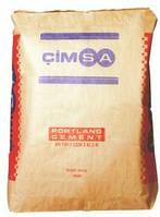 Цемент быстротвердеющий CIMSA CEM I 42,5 R без добавок (50кг)