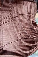 Покрывало велюровое молодёжное в полосочку KOLOCO