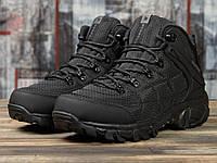Мужские зимние ботинки на меху в стиле Merrell Waterproof, черные 45 (29,5 см)