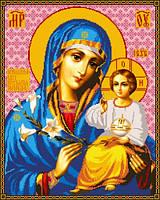 Схема для вышивки Икона Божией Матери Неувядаемый Цвет