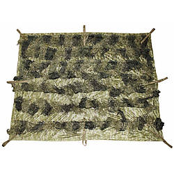 Одеяло маскировочное Ghillie 2 x 1,5 м лесной камуфляж MFH