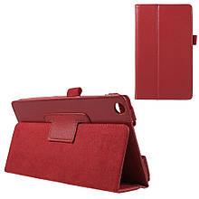 Чехол Подставка Magnetic Litchi для Asus ZenPad C 7.0 Z170 красный