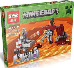 "Конструктор LEPIN ""Мinecraft"", 251 деталь, 18004"