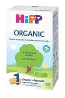 Органическая сухая молочная смесь HiPP Organic 1, 300 г