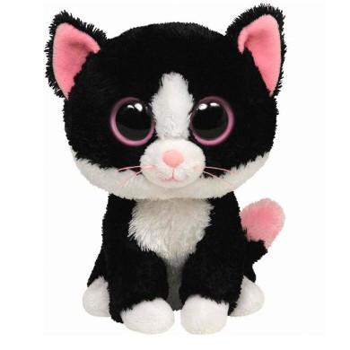Мягкая игрушка черный кот Pepper