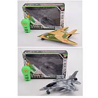 Самолет игрушечный на радиоуправлении Bambi 25см, ездит вперед/назад, свет PY196-19B-21A