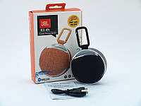 Мини колонка JBL C6 миниатюрная блютуз колонка JBL с SD, Bluetooth FM, фонариком, карабином, черная | AG320422