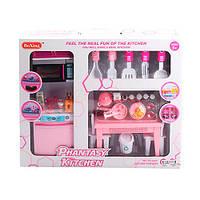 Мебель для кукол Кухня, плита, стол, стулья, посуда, продукты, X221L8